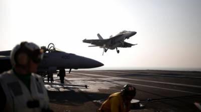 امریکاکا فوجی طیارہ سمندر میں گر کر تباہ