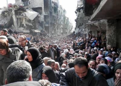 ایک کروڑ تیس لاکھ شامی باشندوں کو امداد کی اشد ضرورت