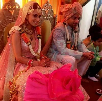 معروف بھارتی اداکارہ رشتہ ازدواج میں منسلک ہو گئیں