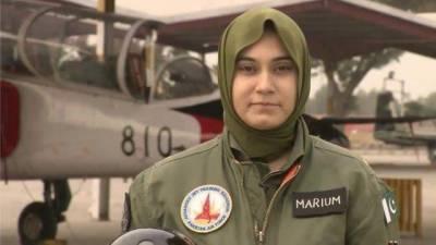 پاک فضائیہ کی شہید پائلٹ آفیسر مریم مختار کی شہادت کو دو برس مکمل