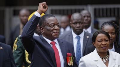 ایمرسن منانگاوا نے زمبابوے کے صدر کے عہدے کا حلف اٹھا لیا