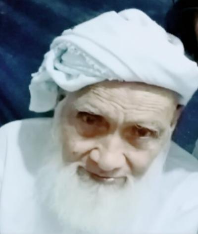 عمر کوٹ کی معروف روحانی سماجی شخصیت کاکا محمد اسماعیل غوری آج صبح انتقال کرگئے،