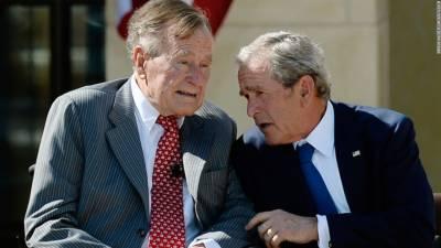 جارج ڈبلیو بش امریکی تاریخ کےسب سے طویل العمر صدر بن گئے