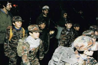 ایرانیوں کا شام کی لڑائی میں کم سن بچے جھونکنے پر اظہار ِفخر