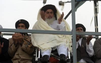 جب تک گرفتار کارکن نہیں پہنچتے فیض آباد سے نہیں اٹھیں گے، خادم حسین