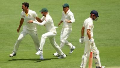 ایشز سیریز کے پہلے ٹیسٹ میں آسٹریلیا کی انگلینڈ کو شکست