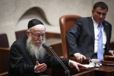 آرام کے دن کام کے تنازعے پر اسرائیلی وزیر مستعفی