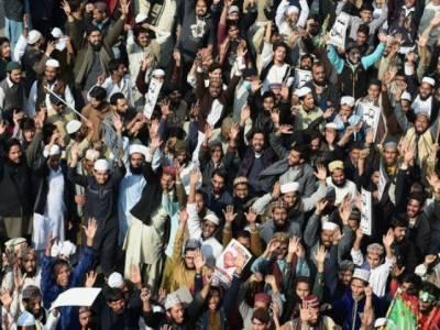 لاہور، چیئرنگ کراس پر مذہبی جماعت کا دھرنا چوتھے روز بھی جاری