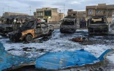 عراق کے دارالحکومت بغداد میں خودکش حملہ، 17 افراد جاں بحق