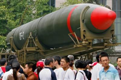دنیا کے ہر کونے تک مار کرنے والا چین کا نیا میزائل