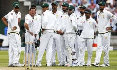 تازہ ترین ٹیسٹ رینکنگ میں پاکستانی ٹیم 7 ویں نمبر پر