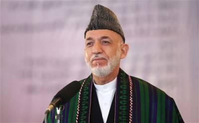 افغانستان میں عدم استحکام کا ذمہ دار پاکستان ہے : حامدکرزئی کی ہرزہ سرائی