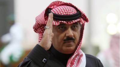 سعودی عرب میں گرفتار شہزداہ متعب بن عبداللہ رہا