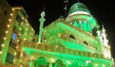 ملک بھر میں عید میلاد النبی ﷺ انتہائی عقیدت و احترام سے منائی جارہی ہے