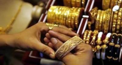 پاکستان میں سونے کی قیمتوں میں ریکارڈ کمی