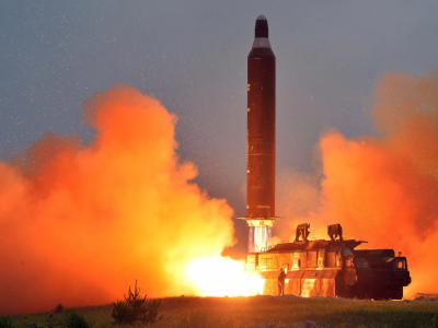 شمالی کوریا کا اپنے طاقت ور ترین میزائل کے کامیاب تجربے پر جشن