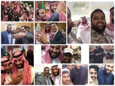 سعودی ولی عہد کا مدینہ منورہ کا دورہ، شہریوں کے ساتھ سیلفیوں کی دھوم مچ گئی