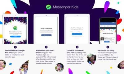 """بچوں کیلئے فیس بک کی مخصوص """"میسنجر ایپ """" متعارف"""