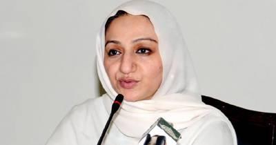 حافظ آباد کے غیور عوام نے پی ٹی آئی کا جلسہ فلاپ کر دیا : سائرہ افضل تارڑ