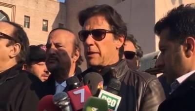 طاہرالقادری جب سڑکوں پر نکلیں گے تو ان کے ساتھ ہوں گے، عمران خان