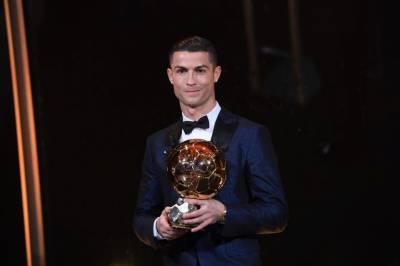 رونالڈو پانچویں مرتبہ سال کے بہترین فٹ بالر قرار