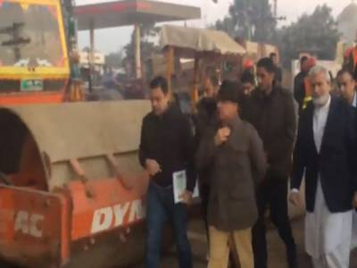 شہبازشریف کا اورنج لائن ٹرین منصوبے کے روٹ کا دورہ ، مختلف مقامات پر تعمیراتی کام کی رفتار کا جائزہ لیا