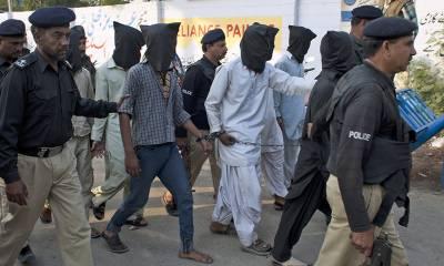 پشاور زرعی انسٹیٹیوٹ حملے میں ملوث 6 دہشت گرد گرفتار