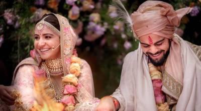 ویرات کوہلی اور انوشکا شرما کی شادی کی تصاویر سامنے آگئیں
