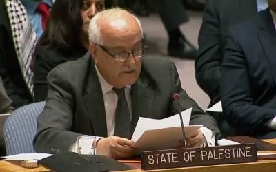 فلسطین کی کوششوں سے سلامتی کونسل میں قرارداد لائے جانے کا امکان