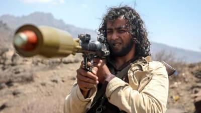 سعودی عرب پر حملے کیلئے یمنی باغیوں کو میزائل ایران نے دیئے، امریکا