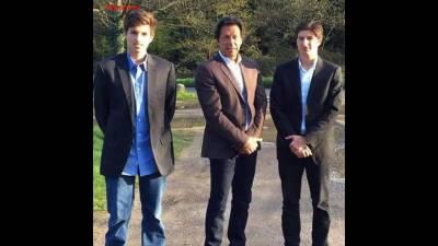 عمران خان کے بیٹے سلمان خان اور قاسم خان کی پاکستان آمد