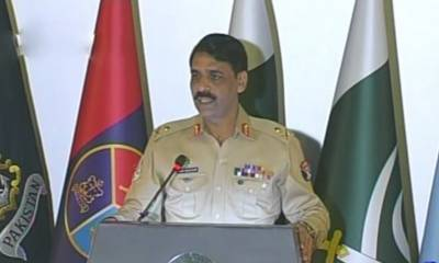 اجلاس میں تمام سینیٹرز نے پاک فوج کے کردار کو سراہا اورقربانیوں کو تسلیم کیا : ڈی جی آئی ایس پی آر