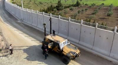 ترکی اور شام کی سرحد پر 911 کلو میٹر دیوار تکمیل کے مراحل میں پہنچ گئی