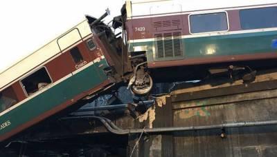 امریکہ میں ٹرین حادثہ ، 6 جاں بحق ، 80 زخمی