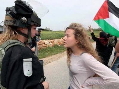 اسرائیلی فوج نے بہادر فلسطینی لڑکی احید تمیمی کو گرفتار کر لیا