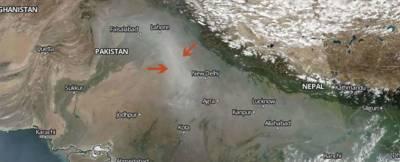انڈیا میں سموگ سے بچنے کیلئے فضا میں پانی پھینکنے کا تجربہ