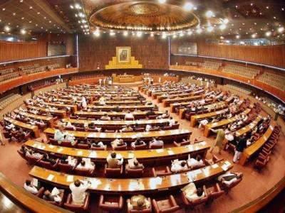 فاٹا اصلاحات بل پیش نہ کرنے پر اپوزیشن کا واک آؤٹ، اجلاس ملتوی