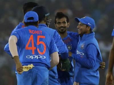 بھارت نے سری لنکا کو پہلے ٹی 20 میچ میں 93 رنز سے شکست دیدی