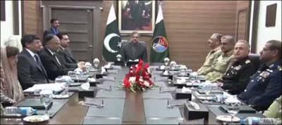 نیشنل کمانڈ اتھارٹی کا اجلا س ، دشمن ممالک کی سازشوں پر اظہار تشوش