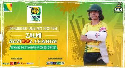 اسکول کرکٹ کو فروغ دینے کیلئے پشاور زلمی کا لیگ کے انعقاد کا اعلان