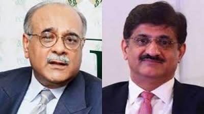 چیئرمین پی سی بی نجم سیٹھی کی وزیراعلیٰ سندھ سے ملاقات