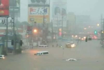 فلپائن میں سمندری طوفان کے باعث90 افراد ہلاک، ہزاروں بے گھر