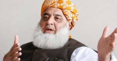 فاٹا کے انضمام پر کسی کی ذاتی رائے کی بجائے ملک کے وقار کو دیکھا جائے : مولانا فضل الرحمن