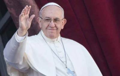 فلسطین تنازع کا دو ریاستی حل نکالا جائے، پوپ فرانسس