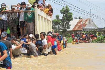 فلپائن میں آندھی نے تباہی مچا دی،مختلف حادثات میں 30 افراد ہلاک، 60 لاپتہ