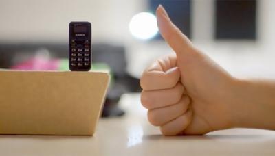 برطانوی کمپنی نے دنیا کا سب سے چھوٹا موبائل فون تیار کر لیا