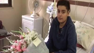 آرمی چیف سے مدد کی اپیل کرنے والا بچہ سی ایم ایچ لاہور منتقل