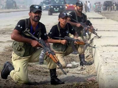 کراچی میں مبینہ پولیس مقابلہ ، 5 دہشتگرد ہلاک