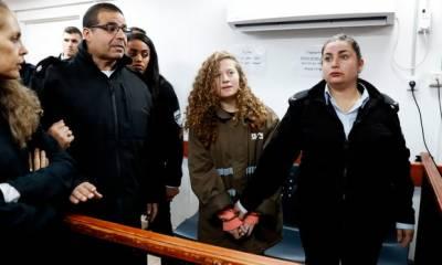 فلسطین میں مظاہروں کے دوران منہ توڑ جواب دینے والی لڑکی کو اسرائیلی عدالت نے سزا سنادی