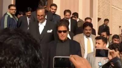 عمران خان کی چاروں مقدمات میں عبوری ضمانت منظور